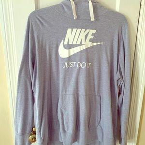 Nike cotton lightweight plus size sweatshirt 3x